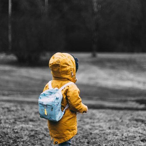 barn guljakke splash